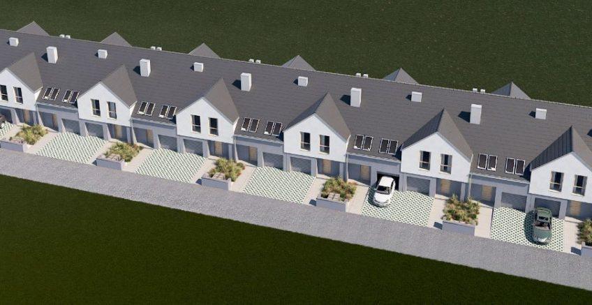 OSIEDLE FIGOWE domy w zabudowie szeregowej Sobótka !