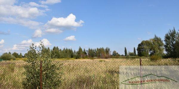 Działka budowlana z widokiem na Ślężę – 1315 mk