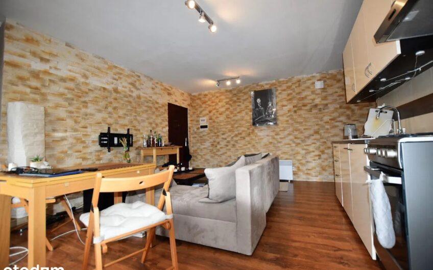 Przytulne, ciche i kompaktowe mieszkanie 2 pokoje